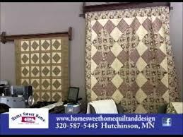 Hutchinson Minnesota's Serendipity and Home Sweet Home Quilt ... & Hutchinson Minnesota's Serendipity and Home Sweet Home Quilt & Design on  Our Story's The Celebrities Adamdwight.com