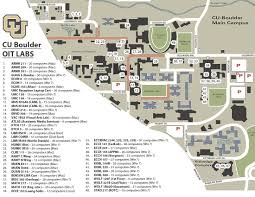 cu map cu campus map university of colorado online visitor's