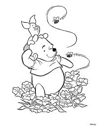 Disegni Da Colorare Winnie The Pooh E Pimpi Con Le Api Risorse