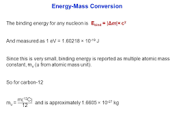 41 example 5 calculate the nuclear binding energy in electronvolts for a helium 4 nucleus given the following m 4 he 4 0026m u given 1 h