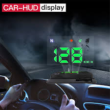 Universal HD Car Truck HUD Speedometer Head UP Display GPS ...