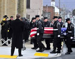 federal prisons embrace pepper spray as antidote to violence corrections officers carry the casket of fellow officer eric williams into holy trinity church in nanticoke