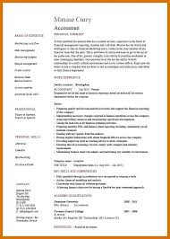 Examples Of Accounting Resumes Experienced Accountant Resumes ...