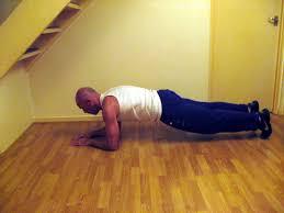 Start Bodyweight Training Plank Progression