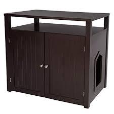 Image Washroom Bench Image Unavailable Amazoncom Amazoncom Arf Pets Cat Litter Box Enclosure Furniture Large Box