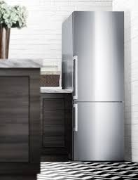 FFBF286SS ENERGY STAR Certified Bottom Freezer Refrigerator Made In Europe