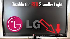 Lg Tv Red Light Keeps Blinking Lg Tv Turn Off The Red Standby Light