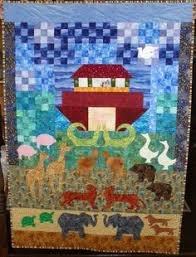 Noah's Ark Wall Hanging Quilt Pattern by FiFisFabricsAndFinds ... & Noah's ark Adamdwight.com