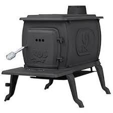 wood stove. us stove cast iron logwood wood with legs, 1,600 sq. ft.