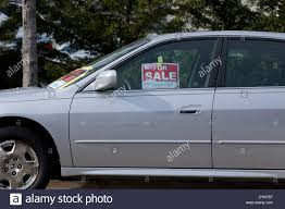 For Sale Sign On Car For Sale Sign On Car Window Virginia Usa Stock Photo 68693611 Alamy