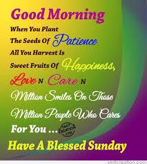 Good Morning Have A Blessed Sunday Smitcreationcom