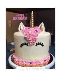 Set Of 5 Handmade Gold Unicorn Birthday Cake Topper Unicorn Horn