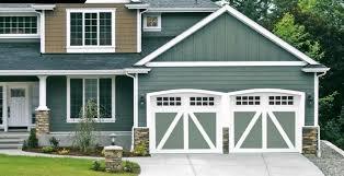 carriage creek garage doors by doorlink 2 thic k with comp osite