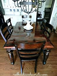 refinishing a dining room table refinished dining room tables refinished dining table redhead can decorate refinish