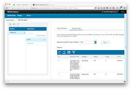 bluemix fundamentals add an sql database to your java app sql database console print table rows discplayed