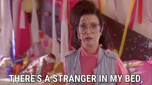 there s a stranger in my bed katy perry