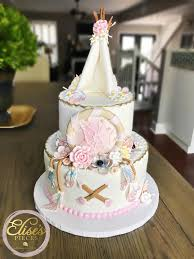 Designer Baby Shower Cakes Elises Pieces Tampas Designer Cakes Treats