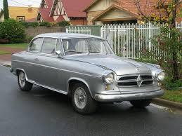 Emily's Borgward Isabella Sedan