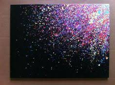 Easy paintings on canvas Animals Paint Splatter Canvas Arti Need To Try This Pinterest 80 Easy Canvas Painting Ideas Kids Canvas Ideas Easy Canvas