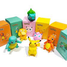 Quà Sinh Nhật XSUIMI, Mô Hình Anime, Búp Bê Hình Con Sóc Purin Mô Hình  Pikachu Nhân Vật Tâm Lý Pokemon