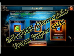 legacy of discord earn 600 free diamonds from super gift