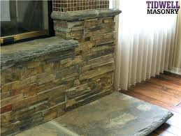 fireplace reface stone refacing a brick fireplace with stone veneer refacing brick fireplace stone veneer chimney