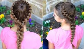 Pretty Girl Hair Style dutch starburst braid cute girls hairstyles youtube 1089 by wearticles.com