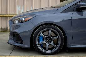 Ford Focus Rs Mk3 Grey Rays Gram Lights 57dr Wheel Front
