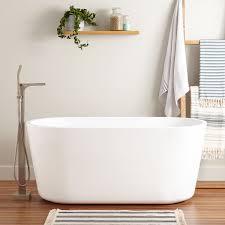 imler acrylic freestanding tub