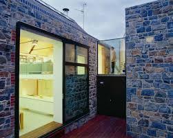 Decor Stone Wall Design Exterior Natural Exterior Stone Wall Design Ideas House Corridor 44