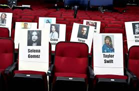 Selena Gomez Seating Chart Selena Gomez Taylor Swift From American Music Awards 2019