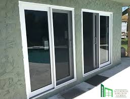 can an exterior door protect your home from an hurricane sliding glass door dog guard
