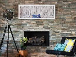 airstone fireplace design ideas