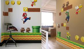 geek office decor. Super Mario Bros Wall Decals Geek Office Decor