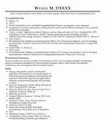 Bioinformatics Resume Bioinformatics Analyst Resume Example Human And Molecular