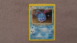 Light Azumarill Holo Light Azumarill 13 105 Holo Unlimited Neo D 357471957