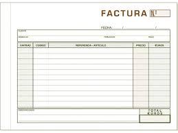 Formatos De Facturas Magdalene Project Org