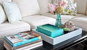 Decorating With Trays On Coffee Tables 100 Unique ways to add style to your coffee table 15