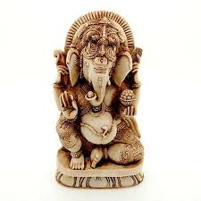 "<b>GANESHA</b> STATUE 7"" Hindu <b>Elephant</b> God <b>HIGH QUALITY</b> Resin ..."