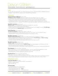 resume_fall2014 chief baker resume