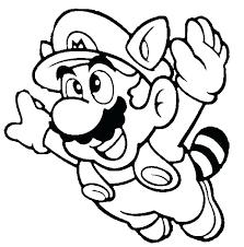 Mario Coloring Page X5320 Super Brothers Printable Coloring Mario