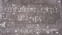 Effie Jennings Battle (1863-1930) - Find A Grave Memorial