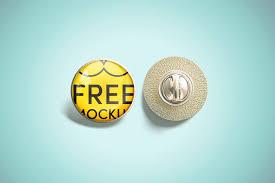 Free imac mockup in psd. 12 Best Free Pin Button Badge Mockups Mockuptree