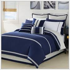 navy blue duvet cover set