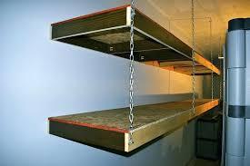 suspended garage storage style garage storage shelves high ceiling garage storage ideas