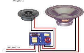 loudspeaker wiring diagrams wiring library speaker crossover wiring diagram
