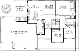 ranch style house plans. Floor Plan Ranch Style House Plans E