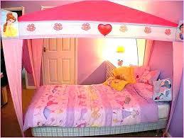 Girls Canopy Bedroom Set Bed Bed Set Princess Toddler Bedroom ...