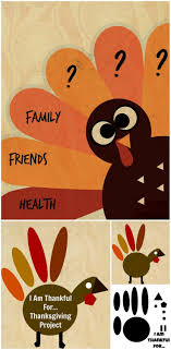 What I\u0027m Thankful For Turkey Art Project | Thanksgiving Gratitude ...