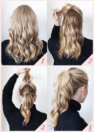 Jednoduché účesy S Rukama Pro Střední Vlasy Módní Styl